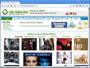 face in hole website