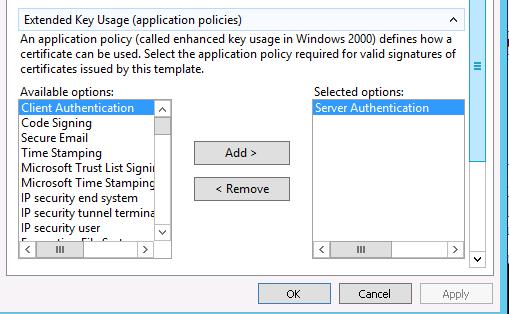 Windows sha 2 csr server authentication yelopaper Images